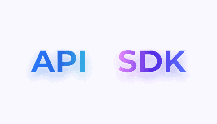 API VS SDK