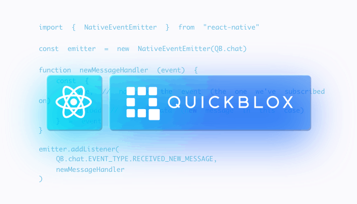 QuickBlox ReactNative SDK