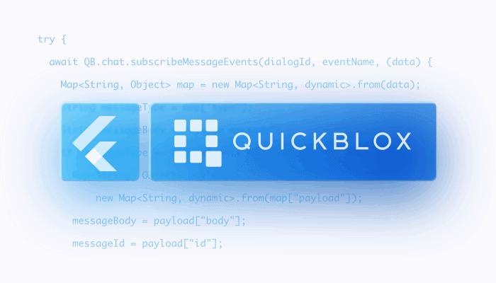 QuickBlox Flutter SDK