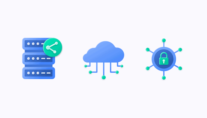 Shared server account VS Enterprise cloud hosted VS On-premise hosting