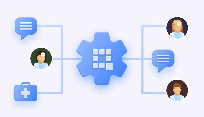 QuickBlox messaging infrastructure