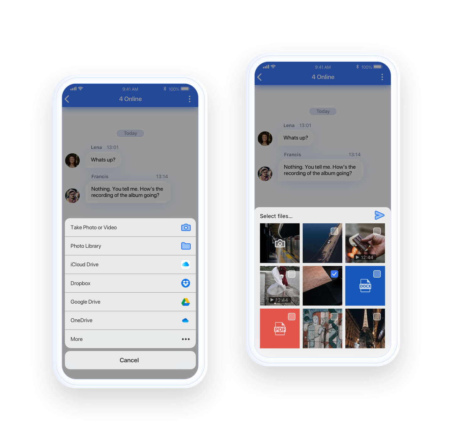 QuickBlox social-chat-features